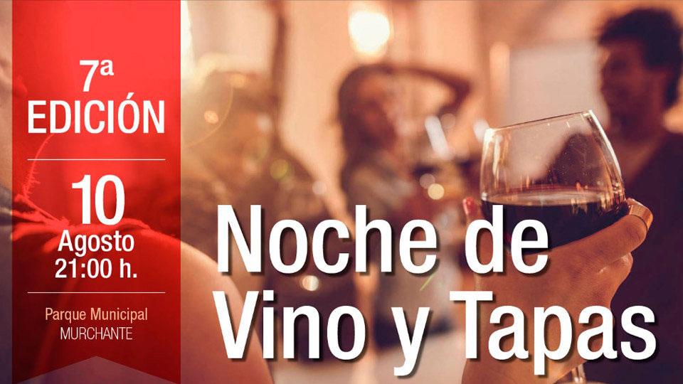 NOCHE DE VINO Y TAPAS VII EDICIÓN